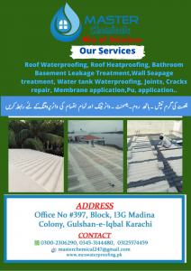 Sheets water Proofing
