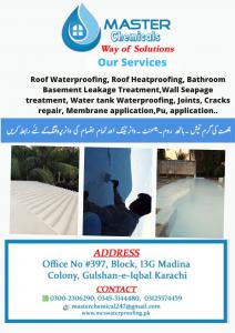Roof Waterproofing Treatment In Karachi